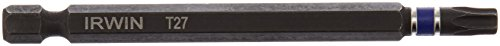 T27 Torx Insert Bits (Irwin Tools 1837626 TORX T27 Impact Performance Series Power Bit, 3-1/2