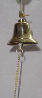 4'' Brass Ship's Bell by Unknown (Image #2)