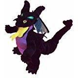 "Disney's Sleeping Beauty Malificent Dragon 6"" Bean Bag Doll"