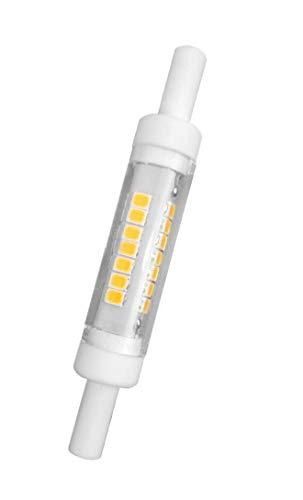bombilla LED R7s 78 mm excelencia y 450 lúmenes, Tan Solo 12 mm de diámetro