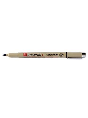Sakura Pigma Micron Pen - Sakura Pigma Graphic Pen 1.0 mm