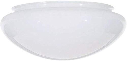 Bowl Mushroom White Glass