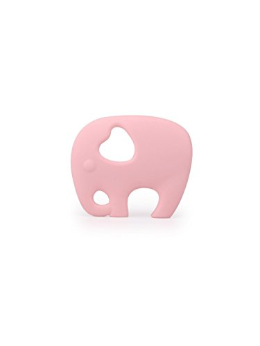 Cardboard Castle Ltd Baby Silicone Teething Toy for Toddlers and Babies, Cute Elephant Shaped Teether, Food Grade Silicone, BPA Free, FDA Approved -