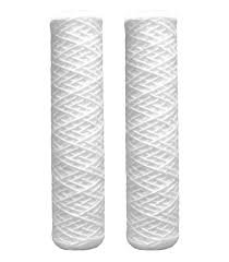Smart Pack, GE FXWSC Compatible Universal Whole House Sediment String Wound Water Filter Cartridge by CFS