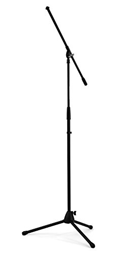 Nomad NMS-6606 37 to 66 Inches High with 30-Inch Tripod Base Boom Microphone Stand