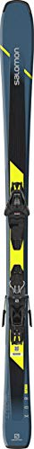 Salomon XDR 76 ST C Mens Skis 180 w/L10 GW Bindings Mens Sz 180cm Blue/Black