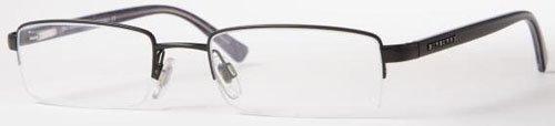 Burberry Eyeglasses BE1012 1001 Shiny Black Demo Lens 50 19 135