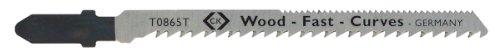 silber 5-er Pack - Typ T Holz C.K T0865T Stichs/ägebl/ätter