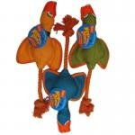 Hartz Tuff Stuff Nose Divers Dog Toy 1 EA (Pack of 4)
