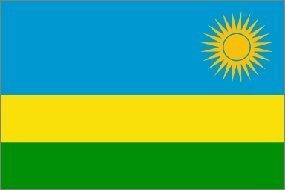 3x5 Foot Polyester Rwanda Flag