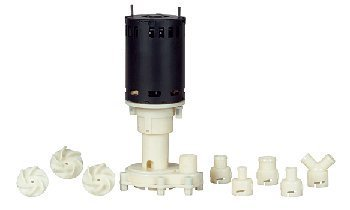 Little Giant RIM-U 1/25 HP Ice Machine Replacement Pump with 3' Power Cord (545600)