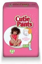Cutie Pants Toddler Training Pants Pull On 3T to 4T Disposable Heavy Absorbency, CR8008 - Case of 92