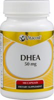 Vitacost DHEA -- 50 mg - 100 Capsules