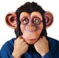[Comic Chimp in Lazy Song Costume Accessory] (Comical Halloween Costumes)