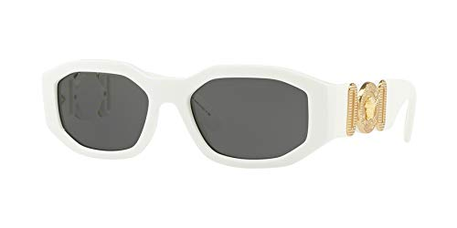 Versace Unisex Sunglasses, White Lenses Injected Frame, ()