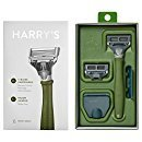 (Harry's Men's Razor with 2 Razor Blades - Forest Green)
