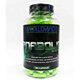 Worldwide Nutrition Anabolic Accelerator Muscle Growth Herbal Supplement 180 Capsules