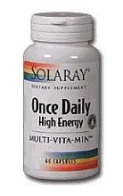 Solaray - Une fois par jour des Hautes Energies - 180 capsules