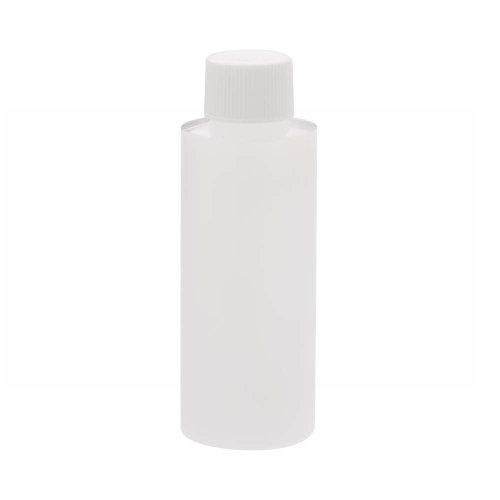 Wheaton 221154 Cylinder Round Bottle, Natural HDPE, 60mL, 35mm x 98mm (Case of 72)