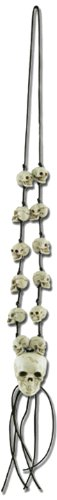 Skull Necklace Party Accessory (1 count) (1/Card)]()
