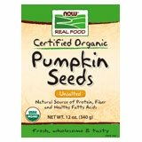 NOW Foods Organic Pumpkin Seeds-12 oz- 2 PACK by NOW Foods