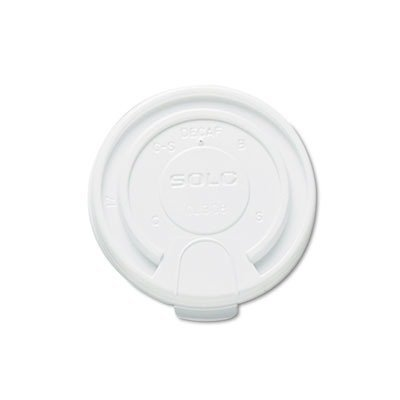 SCCLB3161 - Solo Liftback amp;amp; Lock Tab Cup Lids For Foam Cups, 16 Oz, White by SOLO Cup Company