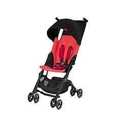 GB Pockit Plus Lightweight Stroller (Cherry Red)