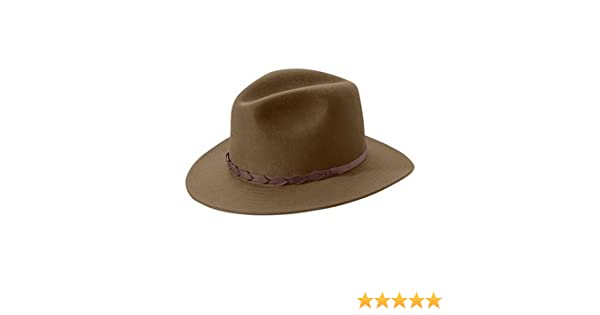 Tilley Endurables Montana Winter Felt Fedora TWF1 Brown 9dfc9fc4f75d