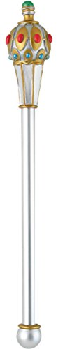 (Disguise Men's King's Scepter Costume Accessory, Silver,)