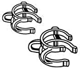 Kimble Chase CLAMP N-P STEEL SZ 24 PK/6 Nickel-Plated Standard Taper Joint Clamp - KMBL