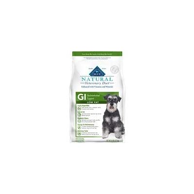 Blue Buffalo Natural Veterinary Diet Gi Gastrointestinal Support Low Fat Dry Dog Food, 22-lb Bag