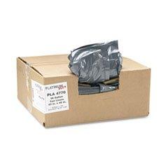 Hexene Resin (Platinum Plus PLA4770 Can Liner, Super Hexene Resin 56gal, 1.55 Mil, 43 x 48, 50/Carton)