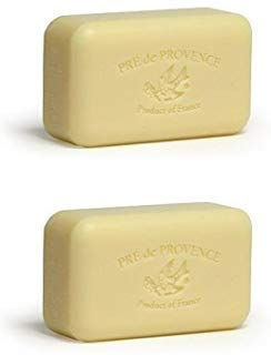 Pre de Provence 150g Verbena Shea Butter Enriched Triple Milled Soap (Pack of 2)
