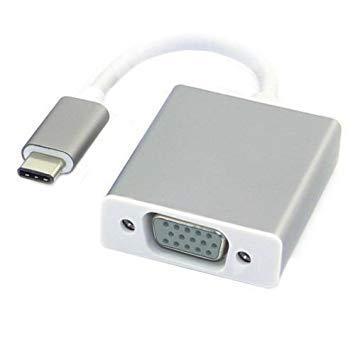 BookYourWish Premium USB C to VGA Adapter