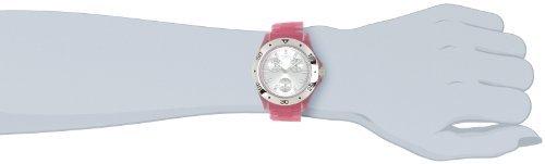 Invicta Women's 1658 Anatomic Silver Dial Pink Frosted Plastic Watch - Frosted Plastic Watch