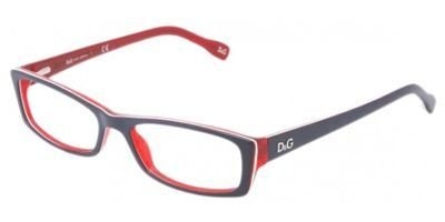 D&g Young&coloured Dd1212 Eyeglasses 1872 Blue/red/white/red Demo Lens 52 16 - Frames D&g Optical