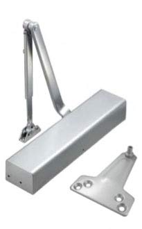 INOX DC8516-ALU US26D Aluminum Finish Cast Aluminum - Surface Mounted UL 3 Hour Fire Rated and ADA for high trafic doorways Grade 1 storefronts /& entrances INOX HARDWARE Heavy Duty Commercial Door Closer