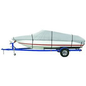 Boat Cover Reflective Polyester - Dallas Manufacturing Co. Reflective Polyester Boat Cover E - 20-22' V-Hull Runabouts - Beam Width to 100