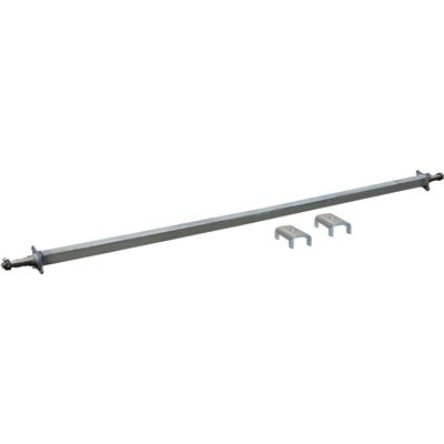 Ultra-Tow 3,500-Lb. Capacity Spring Trailer Axle with Adjustable Spring Mount...