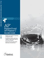 2009 AP Physics B and Physics C Released Exam