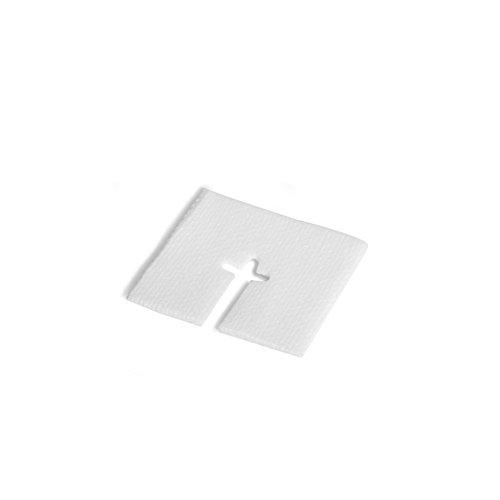 MediChoice IV Drain Split Sponge, Non-Woven, Sterile, Hypoallergenic, 2x2 inch, White, 1314SPNG5001 (Case of 700)