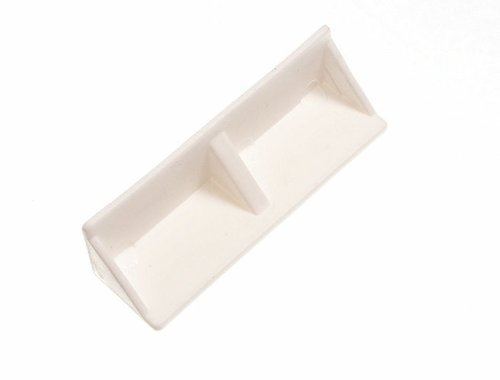 Lot Of 200 Knockdown Fitting Furniture Corner Joint White 20 X 20 X (Knockdown Shelving)