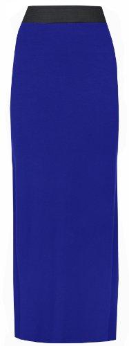 online Roi asfashion en Longue Bleu jupe jersey ZCwfdqC