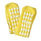 (Posey Socks Non Skid Regular Yellow - 1 Pair - Model 6239y)
