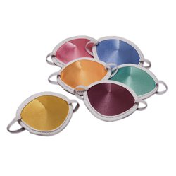 Adult Pastel Colored Eye Patch (set of - Silk Patch Eye Pirate