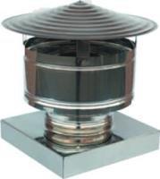 Comignoli Per Canne Fumarie Terminale Antipioggia Inox aisi 304 Base Quadrata, Tutte le misure (420x420) Piemme Industry