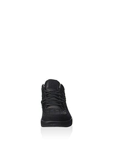 Nike Mens Jordan Clutch Basketbalschoen Zwart Zwart Gymnasium Rood 002