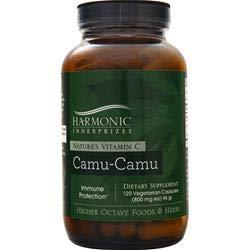 Harmonic Innerprizes Camu-Camu Veggie Capsules, 120 Count Review