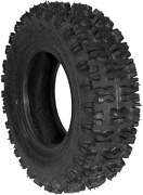 Rotary # 8006 Lawnmower Tire 410 x 350 x 4 Snow Hog Tread Tubeless 2 Ply Carlisle Brand