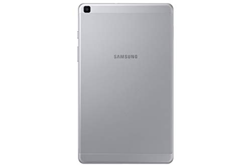 """Samsung Galaxy Tab A 8.0"""", Lightweight Android Tablet with Large Screen Feel, WiFi, Camera, Long-Lasting Battery, 64 GB, Silver"""